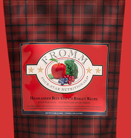 FROMM FAMILY FOODS LLC FROMM FOUR-STAR DOG HIGHLANDER BEEF 5LBS