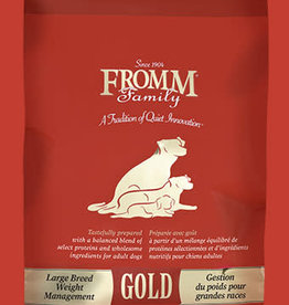 FROMM FAMILY FOODS LLC FROMM GOLD DOG LARGE BREED WEIGHT MANAGEMENT 15LBS