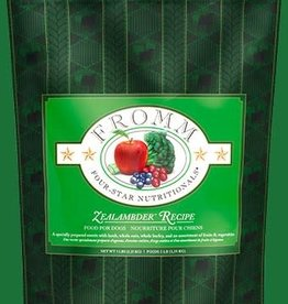 FROMM FAMILY FOODS LLC FROMM FOUR-STAR DOG ZEALAMBDER 15LBS