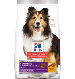 SCIENCE DIET HILL'S SCIENCE DIET CANINE SENSITIVE STOMACH & SKIN 15.5LBS