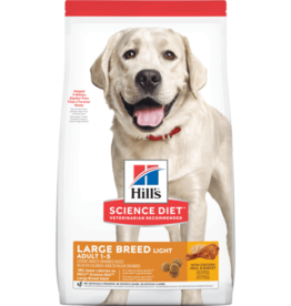 HILL'S HILL'S SCIENCE DIET CANINE LIGHT LARGE BREED 30LBS