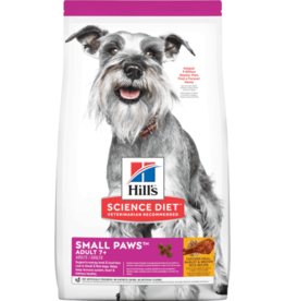 SCIENCE DIET HILL'S SCIENCE DIET CANINE ADULT SMALL PAWS MATURE 7+ 4.5LBS