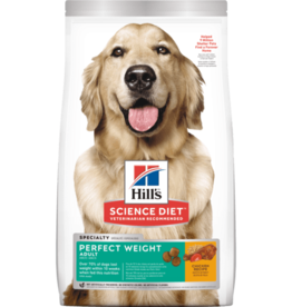 SCIENCE DIET HILL'S SCIENCE DIET CANINE ADULT PERFECT WEIGHT 4LBS