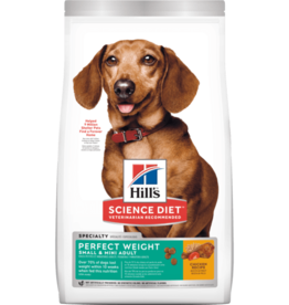 HILL'S HILL'S SCIENCE DIET CANINE PERFECT WEIGHT SMALL & MINI ADULT 4#