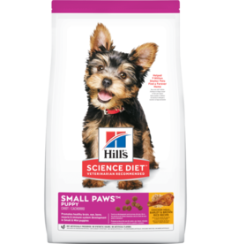 HILL'S HILL'S SCIENCE DIET CANINE PUPPY SMALL PAWS 4.5LBS