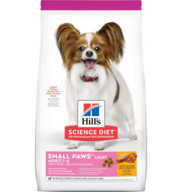 HILL'S HILL'S SCIENCE DIET CANINE ADULT SMALL PAWS LIGHT 4.5#