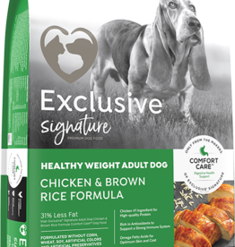 PURINA MILLS, INC. PMI EXCLUSIVE DOG HEALTHY WEIGHT 30LBS