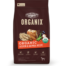 MERRICK PET CARE, INC. CASTOR & POLLOCK ORGANIX CHICKEN & OATMEAL 10#