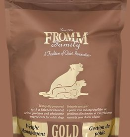 FROMM FAMILY FOODS LLC FROMM GOLD DOG WEIGHT MANAGEMENT 15LBS
