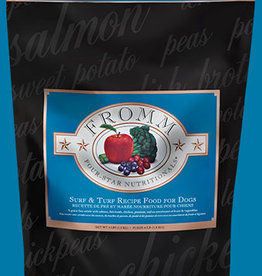 FROMM FAMILY FOODS LLC FROMM FOUR-STAR DOG SURF & TURF 4#