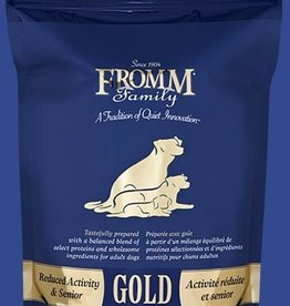 FROMM FAMILY FOODS LLC FROMM GOLD DOG REDUCED ACTIVITY & SENIOR 15LBS