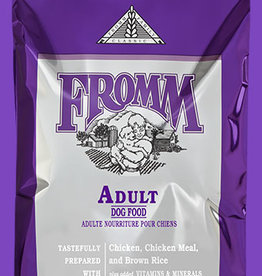 FROMM FAMILY FOODS LLC FROMM CLASSIC DOG ADULT 33#