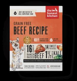 THE HONEST KITCHEN HONEST KITCHEN DOG WHOLE GRAIN BEEF 4#
