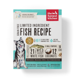 THE HONEST KITCHEN HONEST KITCHEN DOG LID GRAIN FREE FISH W/COCONUT 10LBS