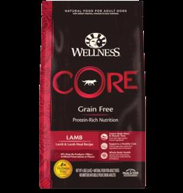 WELLPET LLC WELLNESS CORE DOG GRAIN FREE LAMB 12LBS