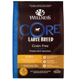 WELLPET LLC WELLNESS CORE DOG GRAIN FREE PUPPY LARGE BREED 24LBS