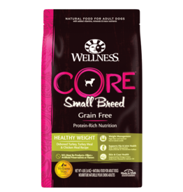 WELLPET LLC WELLNESS DOG CORE SMALL BREED HEALTHY WEIGHT 12#