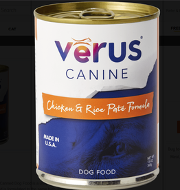 Verus VERUS DOG CAN CHICKEN & RICE 13OZ CASE OF 12