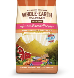 MERRICK PET CARE, INC. WHOLE EARTH FARMS GRAIN FREE SMALL BREED SALMON & WHITEFISH 12LBS