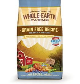 MERRICK PET CARE, INC. WHOLE EARTH FARMS GRAIN FREE HEALTHY WEIGHT 25LBS