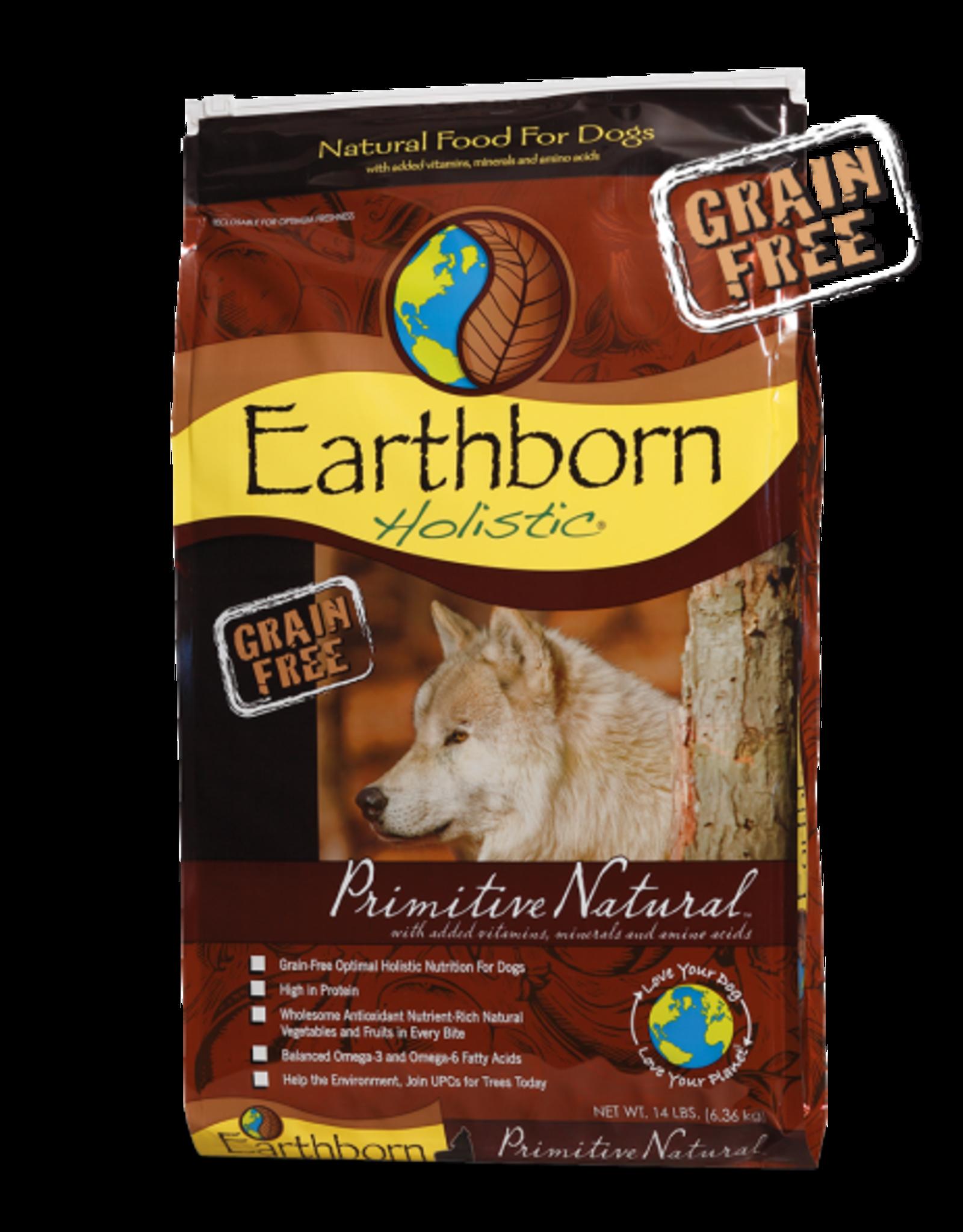 EARTHBORN EARTHBORN HOLISTIC DOG PRIMITIVE NATURAL 28LBS