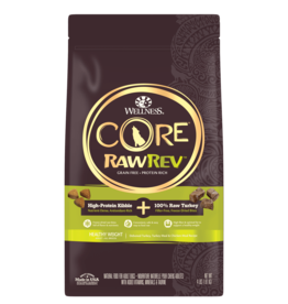 WELLPET LLC WELLNESS CORE DOG RAW REV TURKEY & CHICKEN HEALTHY WEIGHT 18#