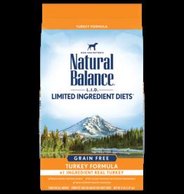 NATURAL BALANCE PET FOODS, INC NATURAL BALANCE DOG GRAIN FREE LID TURKEY 12LBS