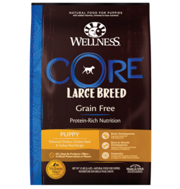WELLPET LLC WELLNESS CORE DOG GRAIN FREE PUPPY LARGE BREED 12#