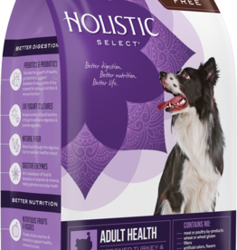 WELLPET LLC HOLISTIC SELECT DOG GRAIN FREE TURKEY & LENTILS 12LBS