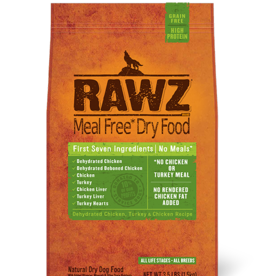 RAWZ RAWZ DOG CHICKEN & TURKEY 10#