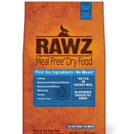 RAWZ RAWZ DOG SALMON CHICKEN & WHITEFISH 3.5#