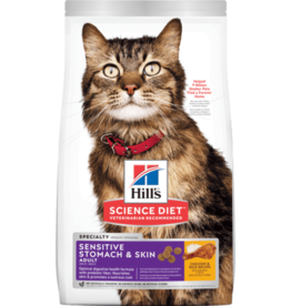 HILL'S HILL'S SCIENCE DIET FELINE SENSITIVE SKIN & STOMACH 7LBS