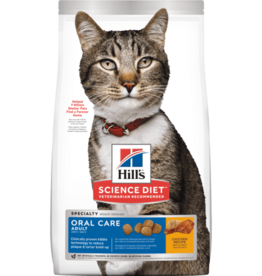SCIENCE DIET HILL'S SCIENCE DIET FELINE ORAL CARE 7LBS