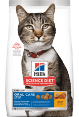 SCIENCE DIET HILL'S SCIENCE DIET FELINE ORAL CARE 3.5LBS