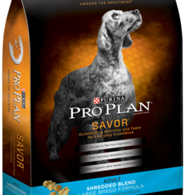 PRO PLAN DOG SAVOR SHREDDED LARGE BREED ADULT 34#