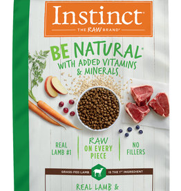 NATURE'S VARIETY/FROZEN NATURE'S VARIETY INSTINCT BE NATURAL LAMB & OATMEAL 24#