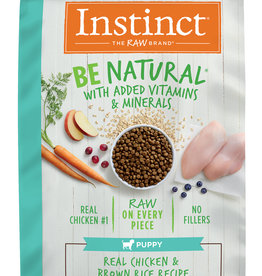 NATURE'S VARIETY NATURE'S VARIETY INSTINCT BE NATURAL PUPPY CHICKEN & BROWN RICE 24LBS