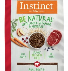 NATURE'S VARIETY/FROZEN NATURE'S VARIETY INSTINCT BE NATURAL BEEF & BARLEY 25#