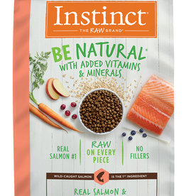 NATURE'S VARIETY/FROZEN NATURE'S VARIETY INSTINCT BE NATURAL SALMON & BROWN RICE 24#