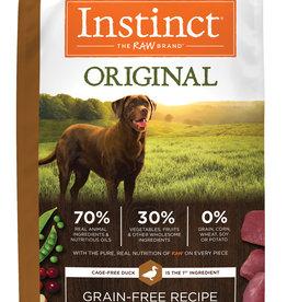 NATURE'S VARIETY/FROZEN NATURES VARIETY DOG INSTINCT DUCK & TURKEY 21.5LBS