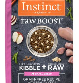 NATURE'S VARIETY/FROZEN NATURE'S VARIETY INSTINCT DOG RAW BOOST CHICKEN SMALL BREED 4LBS