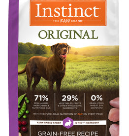 NATURE'S VARIETY/FROZEN NATURE'S VARIETY DOG INSTINCT RABBIT 4#