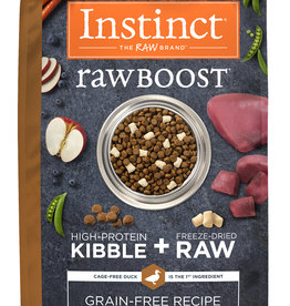 NATURE'S VARIETY NATURE'S VARIETY DOG INSTINCT RAW BOOST DUCK 4LBS