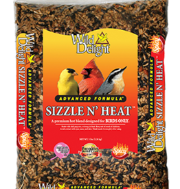 D&D COMMODITIED LTD WILD DELIGHT SIZZLE N' HEAT BIRD FOOD 5LBS