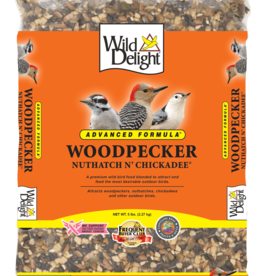 D&D COMMODITIED LTD WILD DELIGHT WOODPECKER, NUTHATCH AND CHICKADEE BIRD FOOD 5LBS