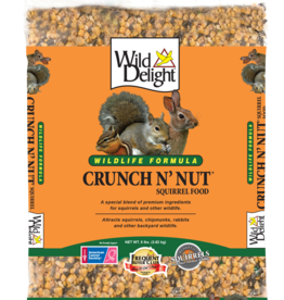D&D COMMODITIED LTD WILD DELIGHT CRUNCH N' NUT SQUIRREL FOOD 8LBS