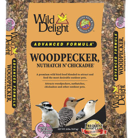 D&D COMMODITIED LTD WILD DELIGHT WOODPECKER, NUTHATCH & CHICKADEE FOOD 20LBS