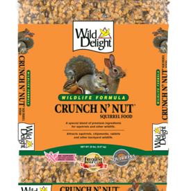 D&D COMMODITIED LTD WILD DELIGHT CRUNCH N 'NUT SQUIRREL FOOD 20LBS