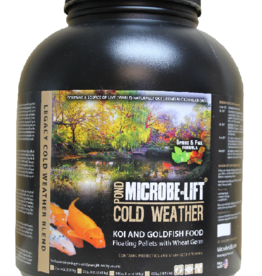 ECOLOGICAL LABS MICROBE LIFT COLD WEATHER FOOD 5LB 4OZ