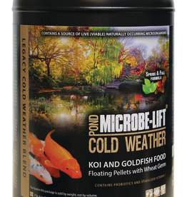 ECOLOGICAL LABS MICROBE LIFT COLD WEATHER FOOD 2 LB 4 OZ